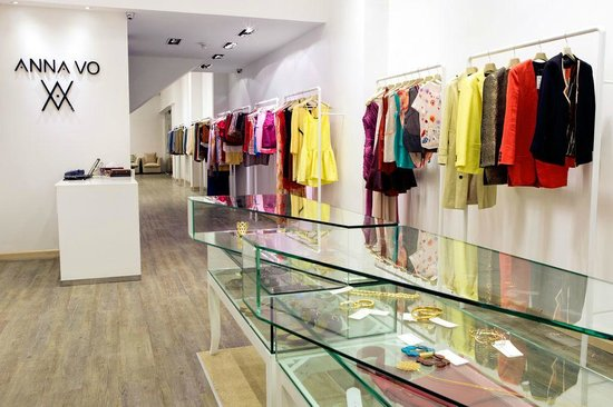 A Cafe is located inside Anna Vo fashion boutique  A modern and     A Cafe is located inside Anna Vo fashion boutique  A modern and  contemporary fashion store