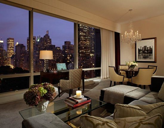 Trump International Hotel And Tower New York Two Bedroom Park View Suite