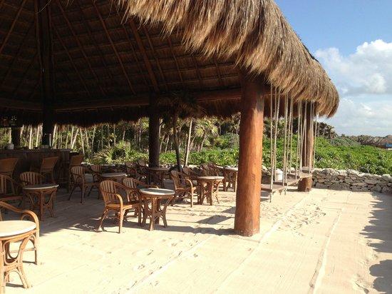 Beach Bar Picture Of Valentin Imperial Maya Playa Del