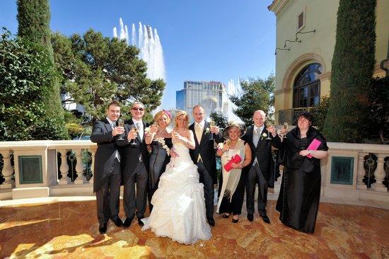 Vegas Weddings Terrace