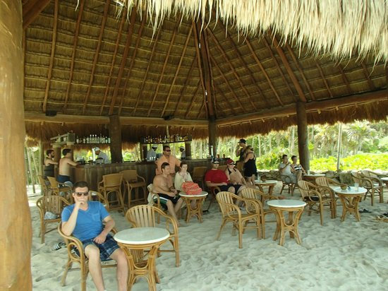 Beach Shack Picture Of Valentin Imperial Riviera Maya