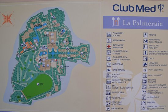 Plan Picture Of Club Med Marrakech La Palmeraie