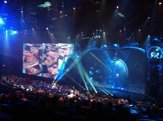 Cirque Du Soleil O Las Vegas Seating Chart
