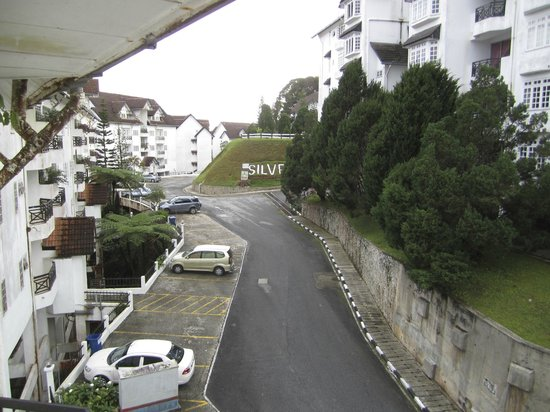 Fraser S Silverpark Resort Studio Apartment View Towards Other Apartments