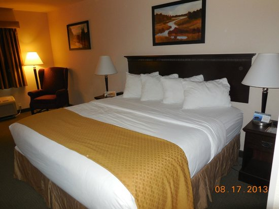 Comfort Inn King Size Bed