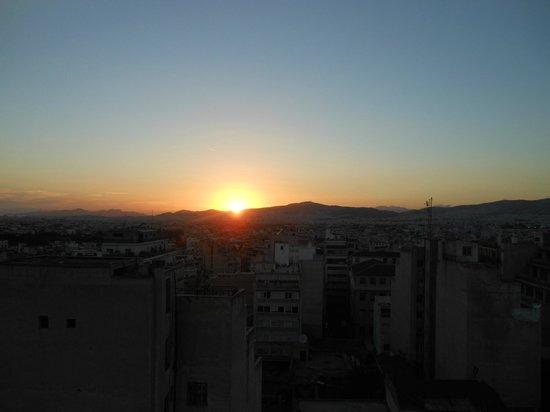 sunrise over athens
