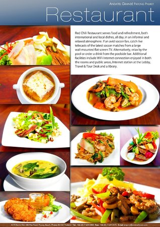 Fact Sheet page 3   Restaurant   Picture of Andatel Grande Patong     Andatel Grande Patong Phuket Hotel  Fact Sheet page 3   Restaurant