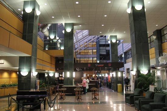 Adjacent Hospital Atrium With Coffee Bar Etc Picture