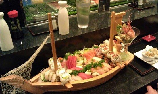 Sushi Restaurants Outdoor Seating