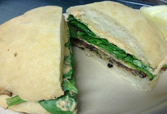 Muffuletta Inspired Sandwich Unity Vegan Kitchen Austin