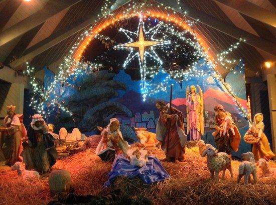 La Salette Shrine Christmas Lights 2017