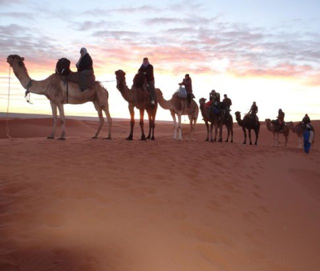 Travel Exploration Morocco Private Tours Sunrise In The Sahara Desert