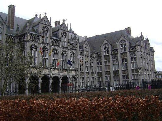 Palacio de los Principes-Obispos, Lieja, Bélgica.: fotografía de ...