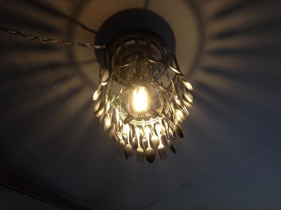 Cafemonde The Cutlery Chandelier