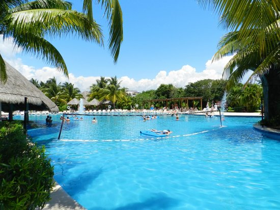 Main Pool Picture Of Valentin Imperial Riviera Maya