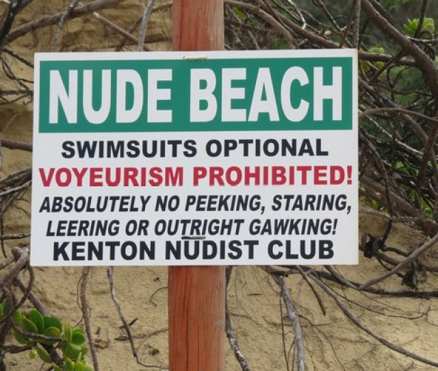 Kariega Beach What A Brilliant Sign Nudists Have A Sense Of Humour