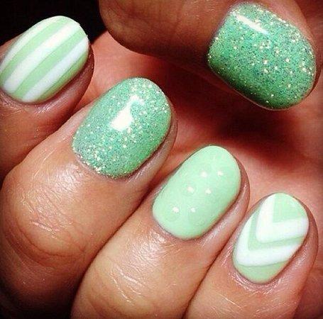 Mirror Salon Spa Spring Gel Nail Trends Gelnailskelowna Nails