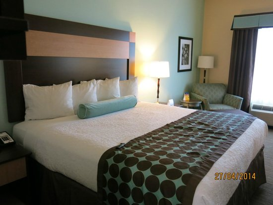Best Western Plus Texarkana Inn Suites Large King Size Bed
