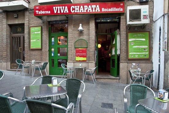 Vegetarian restaurants in Madrid- Viva Chapta