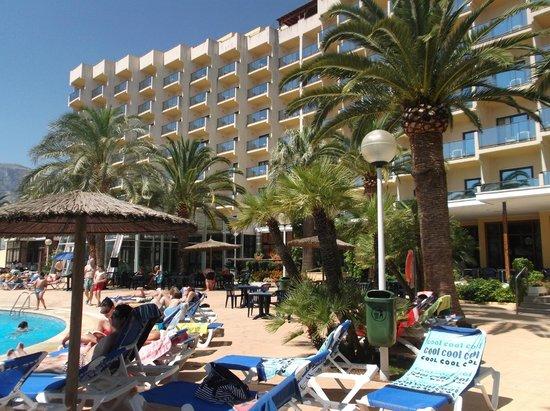 hotel port denia piscina del hotel