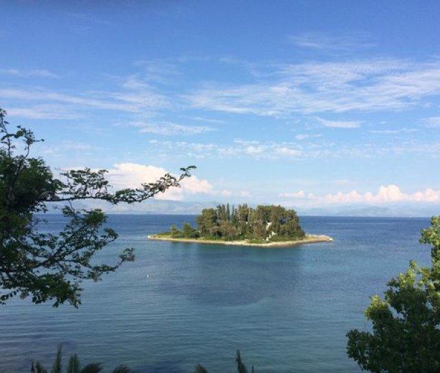 Seaside Resorts Pontikonisi Island Corfu