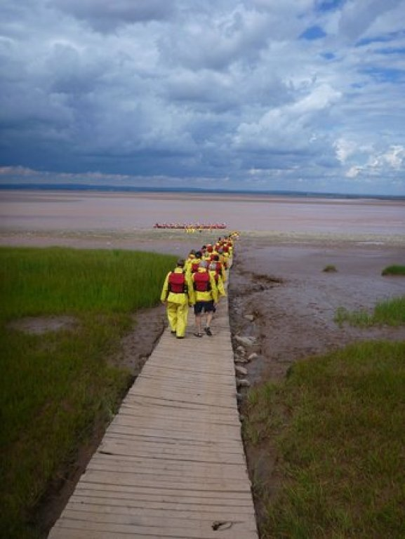 Tidal Bore rafting=Nova Scotia day trips