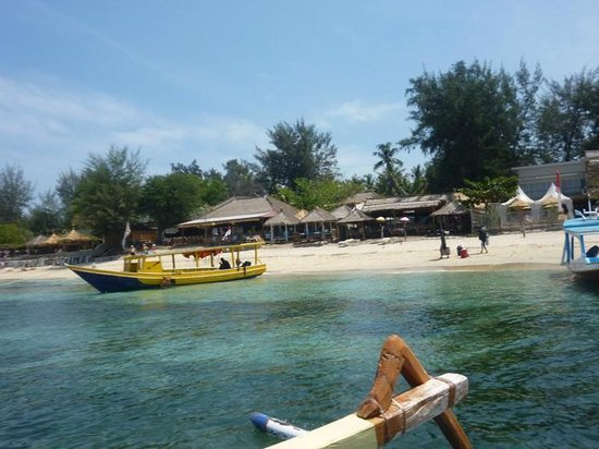 Mode of transport - Picture of Kila Senggigi Beach Lombok ...