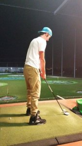 A driving range with food and drink   Review of TopGolf Chicago     TopGolf Chicago