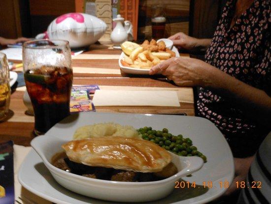 Lunch Menu 40th Birthday Party