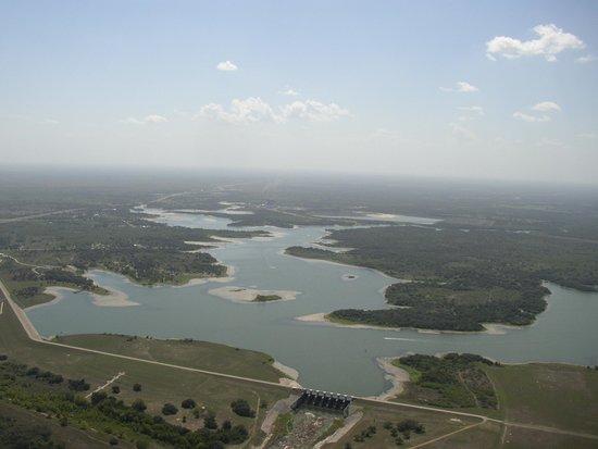 Coleto Map Creek Reservoir