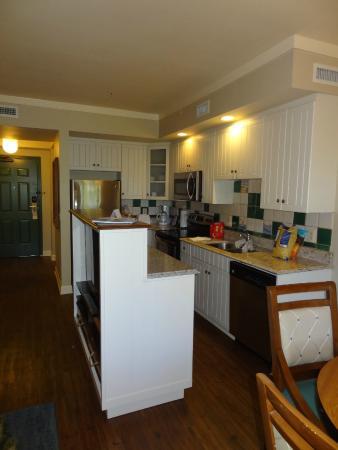 Disney S Hilton Head Island Resort Kitchen In 1 Bedroom Villa