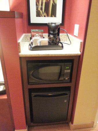 fridge microwave coffee maker