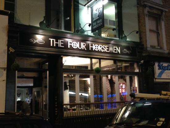 The Four Horsemen Pub Bournemouth Restaurant Reviews