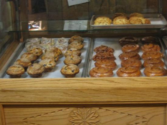 Fresh Baked Goods Michael Kitchen Cafe Bakery Taos