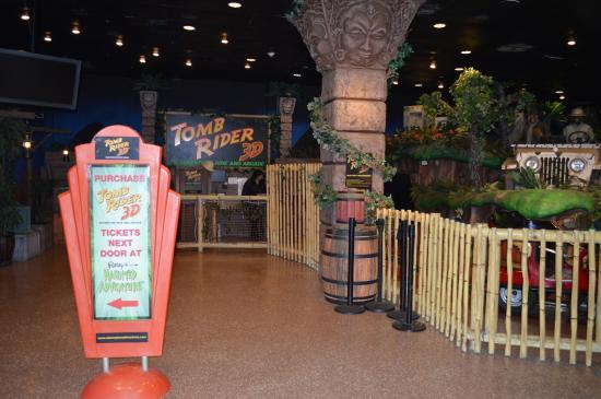 Tomb Rider 3d Adventure Ride Amp Arcade San Antonio Tx
