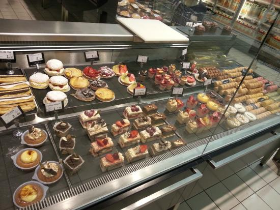French Patisserie In The Geant Casino Supermarket