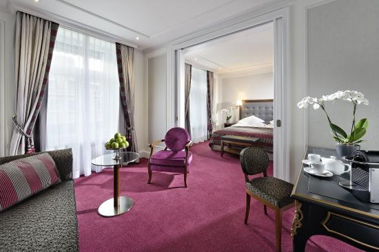 Image result for hotel schweizerhof zürich junior suite deluxe