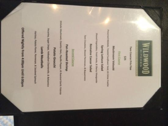 Pudding Wildwood Kitchen Bethesda Tripadvisor