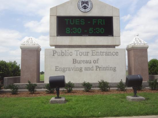 Photo of Bureau of Engraving and Printing