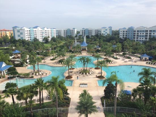 Blue Orlando Green Resort Fountains Bedroom 2