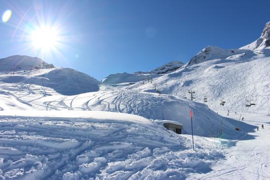Vue Densemble Photo De Station Ski Et Snow Gourette