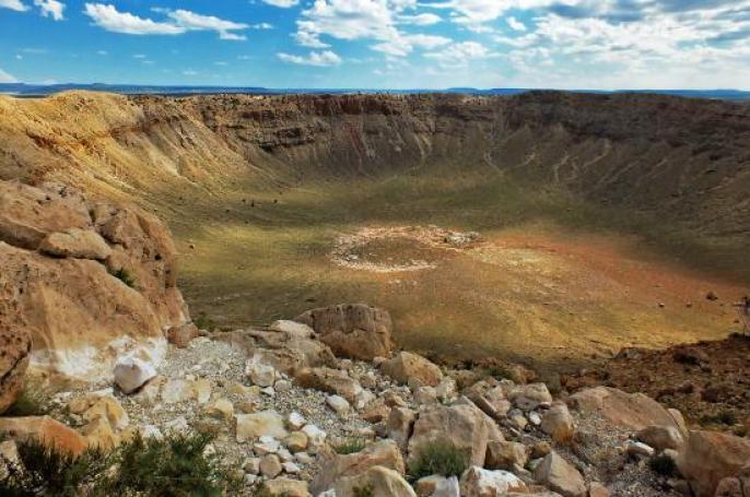 Image result for METEOR CRATER