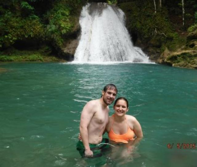 Courtney Taylor Tours Jamaica One Of The Blue Hole Pools