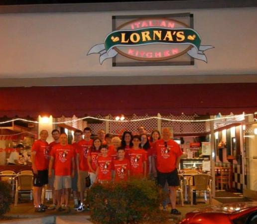 Lorna Birthday Italian Kitchen