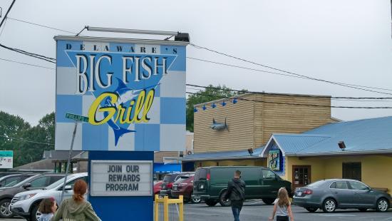 Big Fish Restaurant Locations