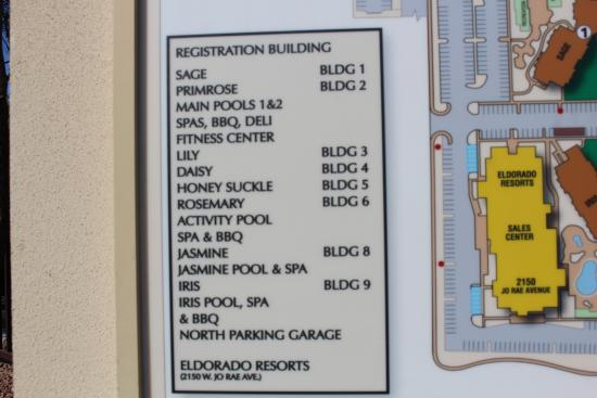 Grandview Building Names And Numbers Picture Of