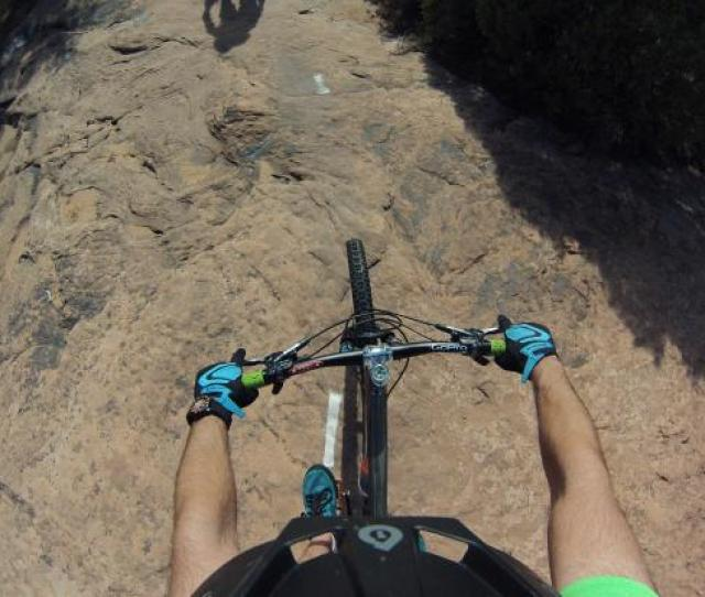 Photo Some Gopro Pov Of Slickrock Bike Trail
