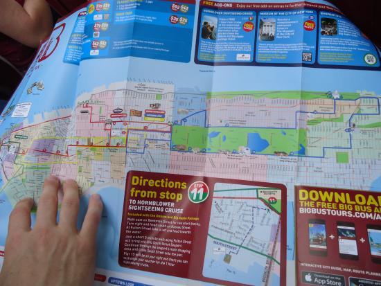 Tag Big Bus Tours New York City Map