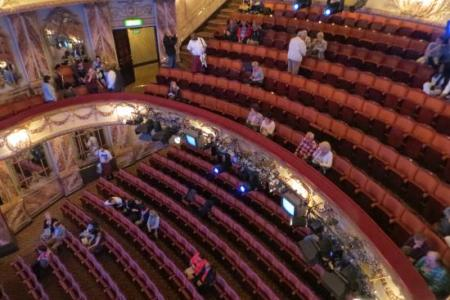 Novello Theatre My View Of The Stage Travels With Me Flickr By Balcony Image