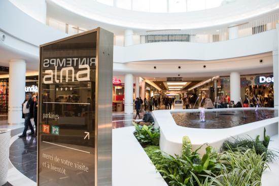 shopping center rennes alma